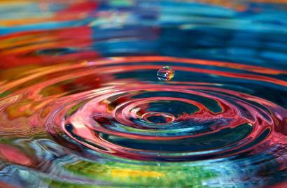 colors20dropplet20ripples20water