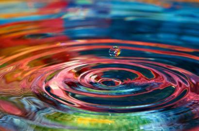 colors20dropplet20ripples20water