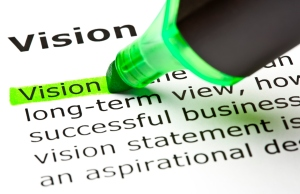 'Vision' highlighted in green