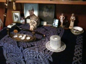 This image has an empty alt attribute; its file name is ancestor-altar-2.jpg